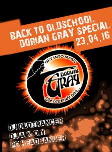 23.04.2016 Back To Oldschool - Dorian Gray Special - Motiv 2 @ Beats 4 You